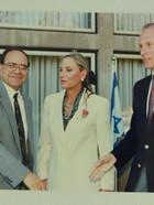 שטרית ומנהיגי יהדות ארצות הברית 1993 (1)