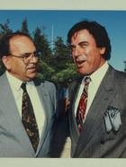 _1993 שטרית עם שחקן הקולנוע אהרון איפאלה