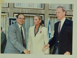 שטרית ומנהיגי יהדות ארצות הברית 1993