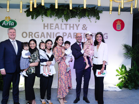 HEALTHY & ORGANIC PARENTING WITH ARLA & INDOFOOD