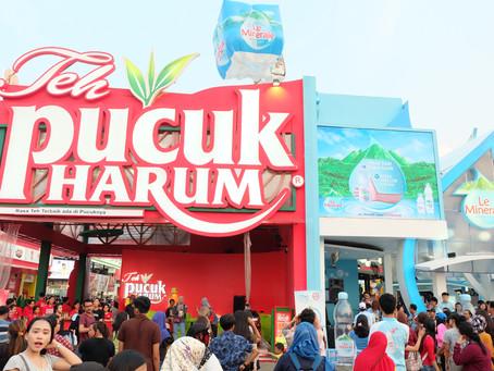 TEH PUCUK HARUM + LE MINERALE @ JAKARTA FAIR 2018