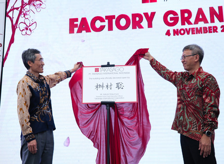 Factory Grand Opening PT. Takasago International Indonesia