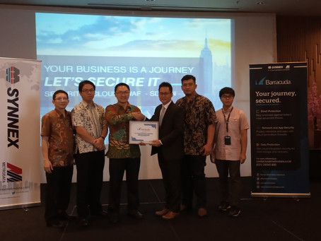 Partnership Launching 2019 : Barracuda & PT Synnex Metrodata Indonesia