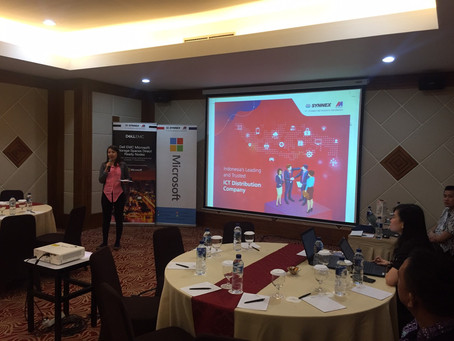 Synnex Metrodata Indonesia with Microsoft and Dell EMC S2D