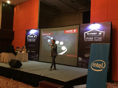 Build Your Gaming Empire : A Collaboration between Synnex Metrodata Indonesia, Intel and Viewsonic