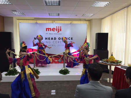 PT Meiji Indonesia - New Office Grand Opening Ceremony
