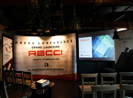 PRESS CONFERENCE & GRAND LAUNCHING RECCI
