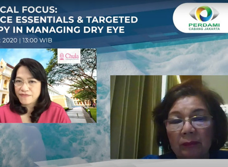 Exclusive Webinar Session with Thai Eye Specialist : MEIJI & SANTEN Presents