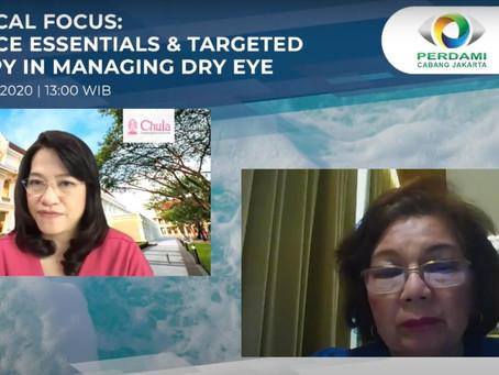 Exclusive Webinar Session with Thai Eye Specialist : MEIJI & SANTEN Presents