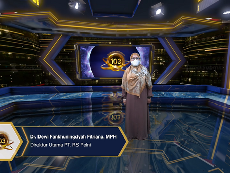 Virtual Ceremony HUT RS Pelni yang ke-103