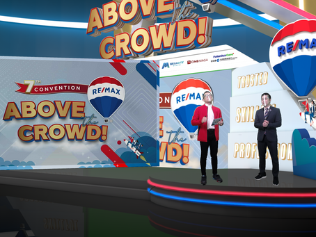 RE/MAX Annual Convention 2021 : ABOVE THE CROWD