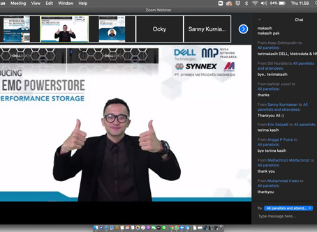 DELL EMC PowerStore Webinar with Synnex Metrodata Indonesia