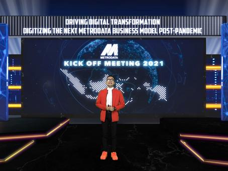 Metrodata : Virtual Kick Off Meeting 2021