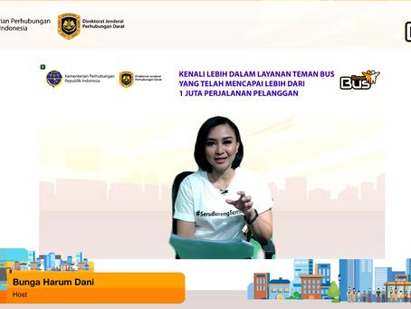 Teman Bus Webinar by Kementerian Perhubungan Republik Indonesia
