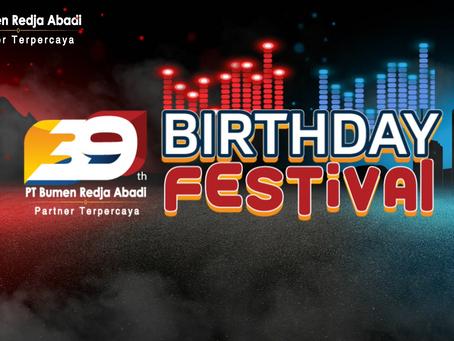 39th Birthday Festival PT. Bumen Redja Abadi