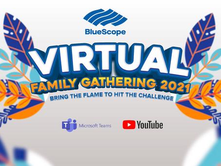 Virtual Family Gathering PT. Bluescope
