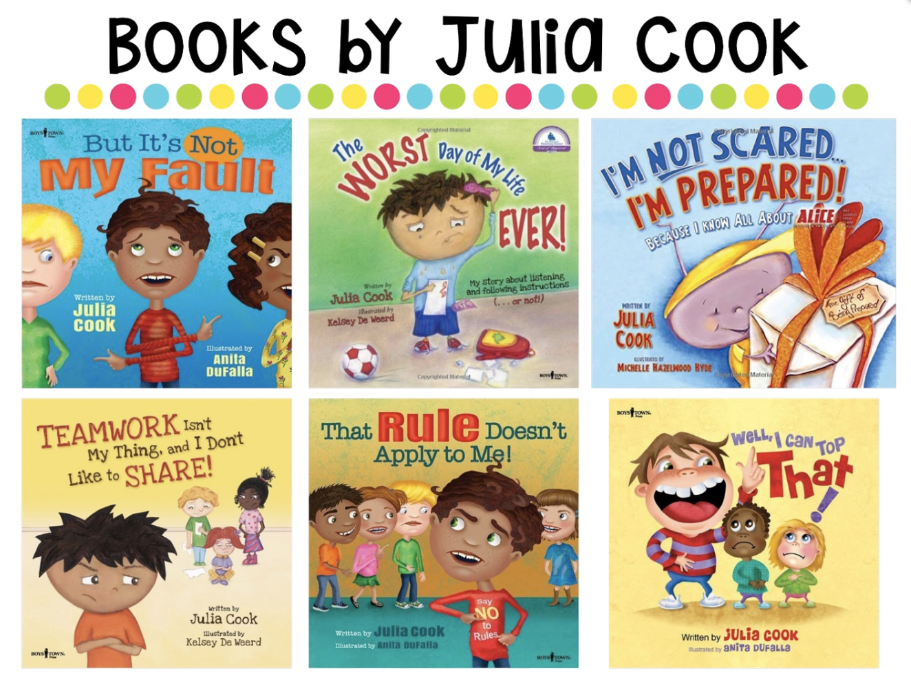 Julia Cook, Author Visit