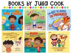 Julia Cook, Author Visit