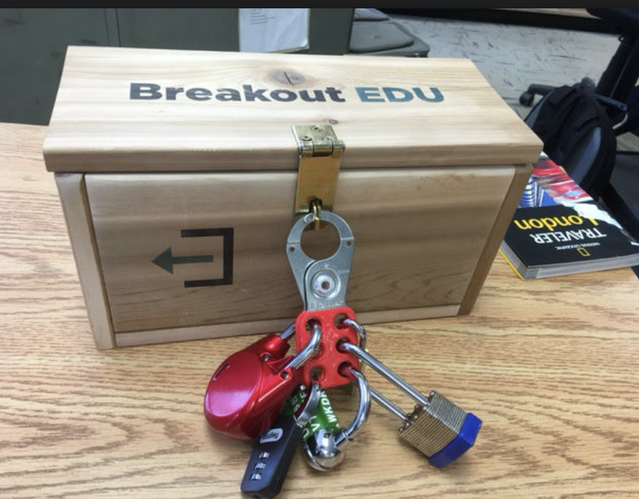 Breakout EDU kits at UAHS