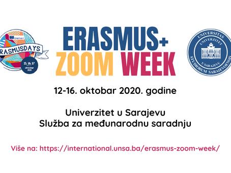 Erasmus+ ZOOM week