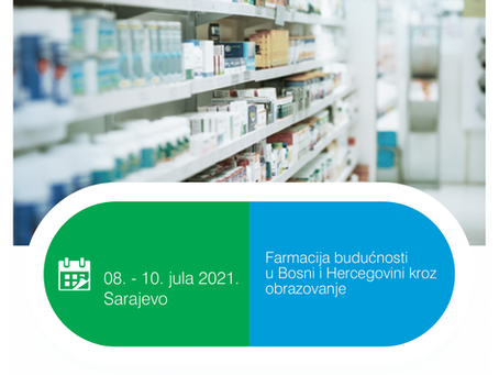 """Simpozij """"Farmacija budućnosti u Bosni i Hercegovini"""""""