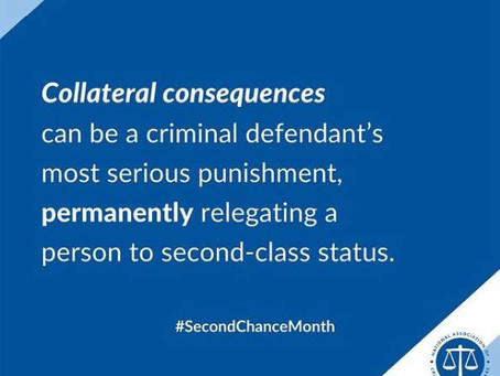 Collateral Consequences of a Criminal Conviction