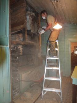 Work begins, Jan 2012