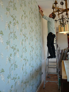 Colefax and Fowler 'Alderney' wallpaper
