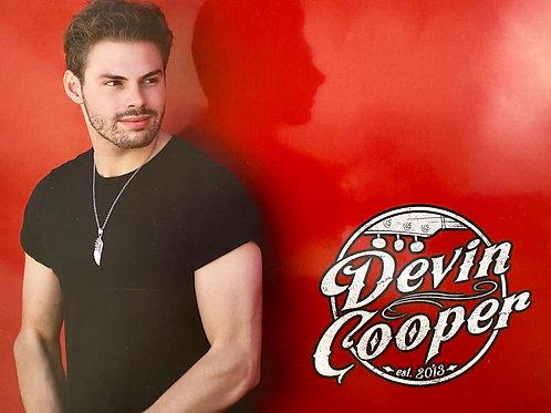 Devin Cooper Signed Poster