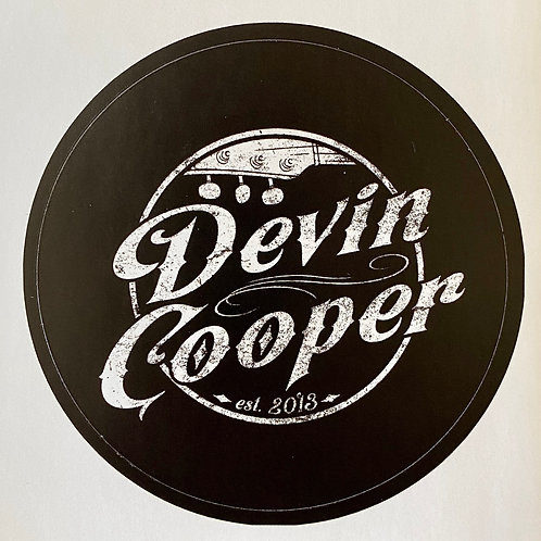 Devin Cooper - Sticker