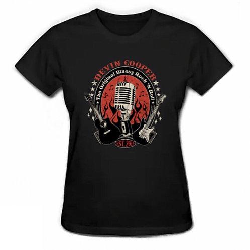 OG Devin Cooper Logo - Ladies T-Shirt
