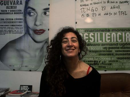 El motor del deseo.  Las motivaciones de Marianella Morena