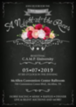 A Night at the Races Invitation