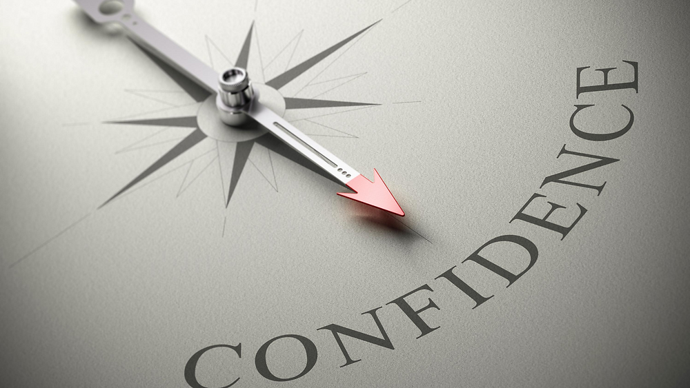 Compass pointing to Confidence