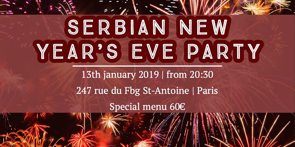 Nouvel An serbe 2019