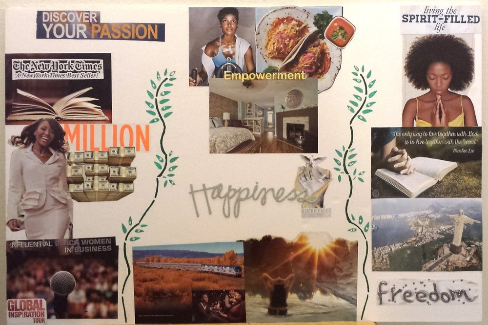 Finding Your Voice Vision Board
