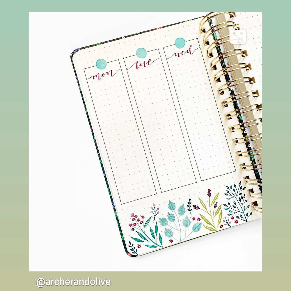 Archer And Olive Bullet Journal