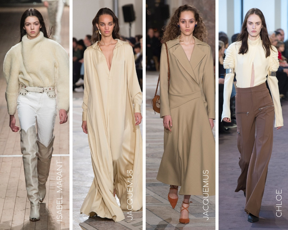 Neutrals on the Runway
