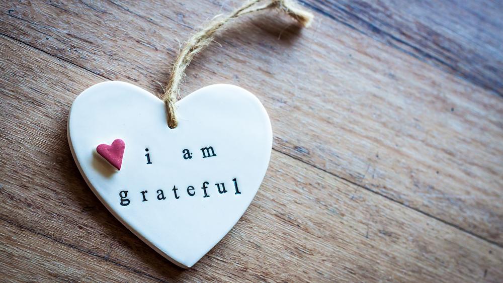 I am Grateful Charm