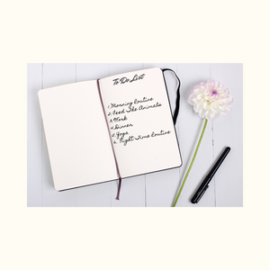 To do list in journal