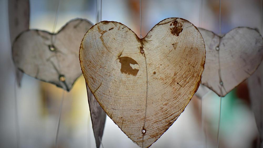Wood Shaving Hearts