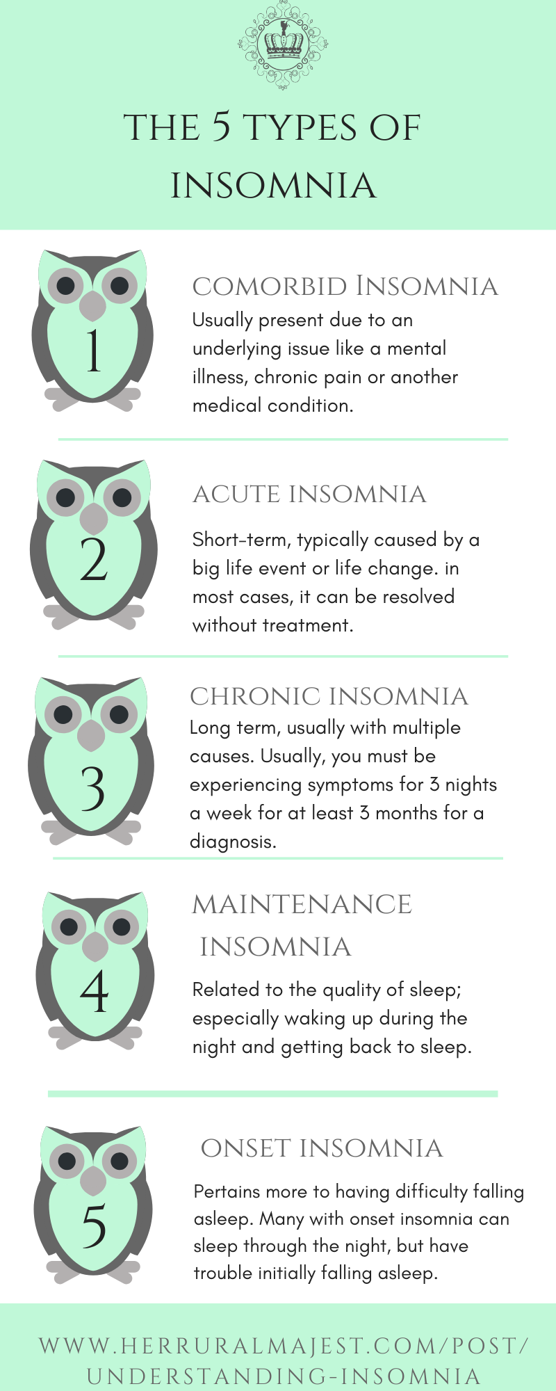 5 Types of Insomnia