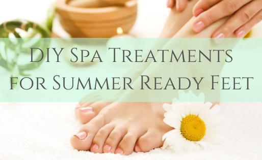 DIY Spa Treatments For Summer Ready Feet