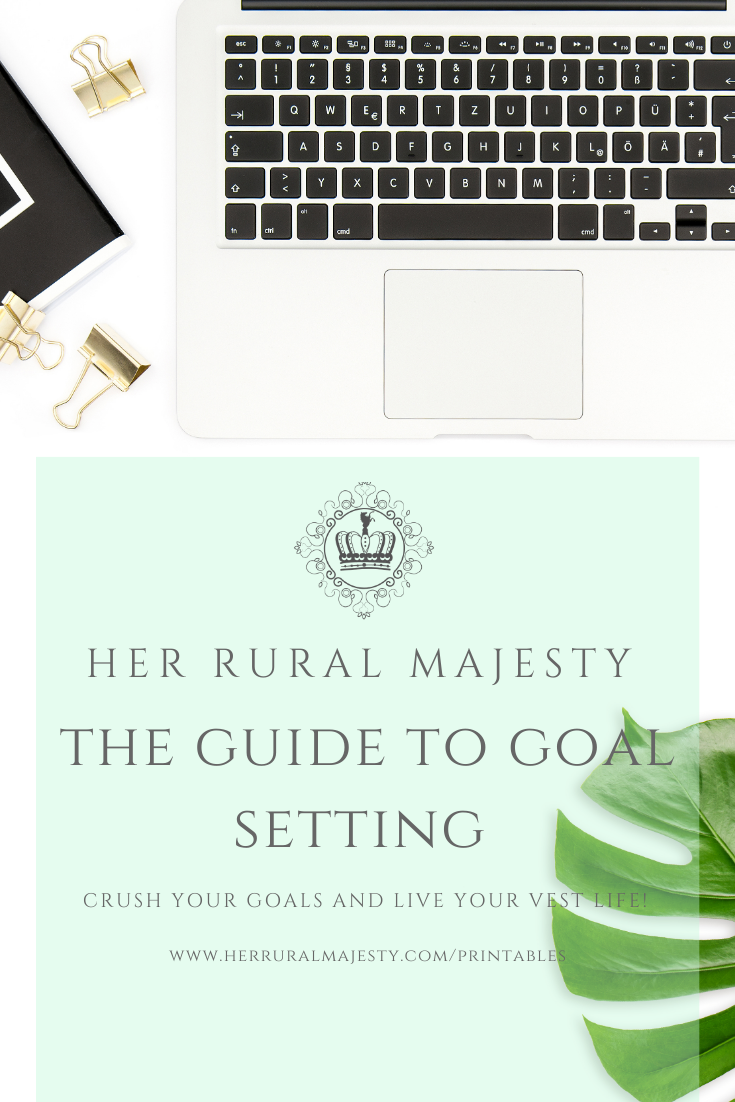Guide To Goal Setting Workbook