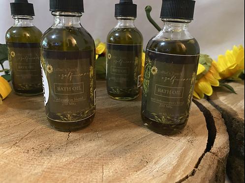 250 MG Herbal Infused Bath Oil