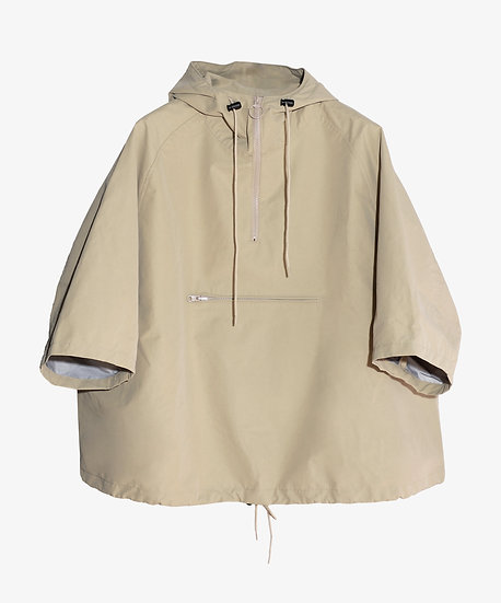 MU-TECH 3 LAYER POP-OVER JACKET BEIGE