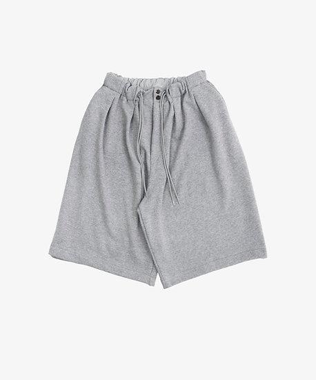 ESSENTIAL LOOP WHEEL CIRCULAR SHORT PANTS