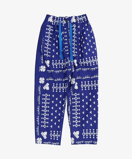SOCOTRA BAGGY TROUSERS ROYAL BLUE