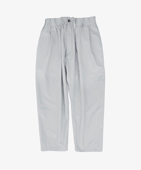 PACKABLE BAGGY TROUSERS LIGHT GREY