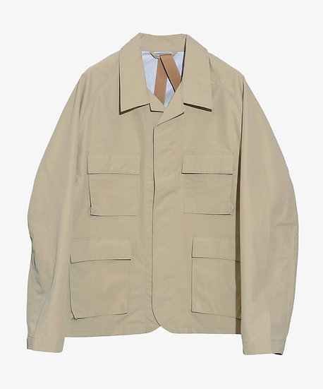 MU-TECH 3 LAYER FUNCTIONAL JACKET BEIGE